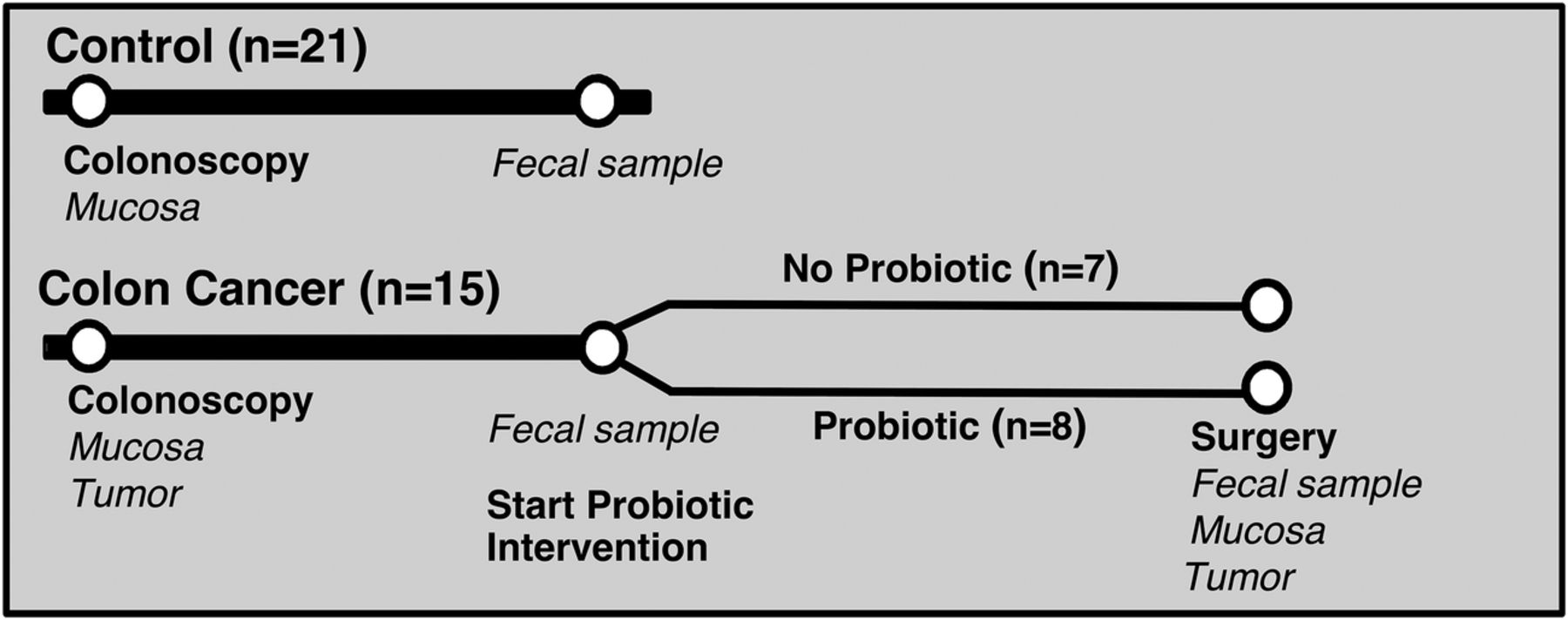 Intestinal Microbiota Is Altered In Patients With Colon Cancer And Modified By Probiotic Intervention Bmj Open Gastroenterology